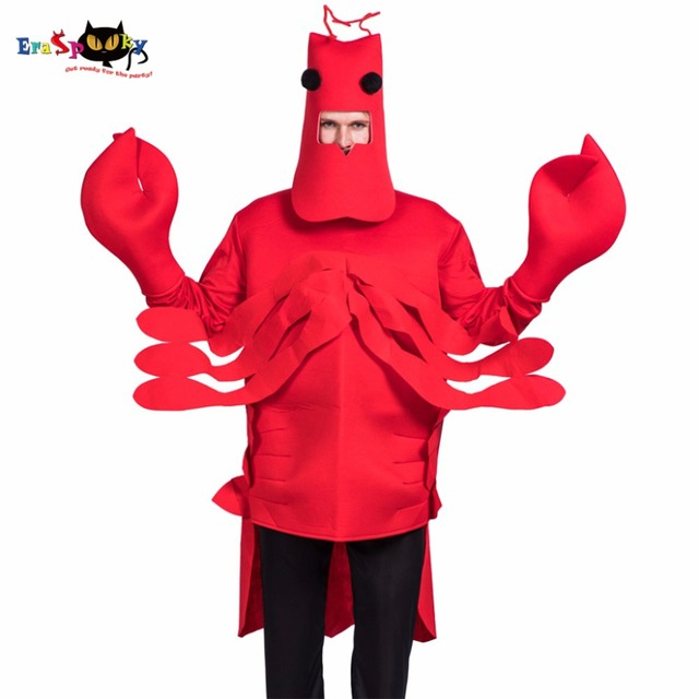 eraspooky halloween costume men christmas cosplay red lobster costume adult costume for party loose animal cosplay - Red Lobster Open On Christmas