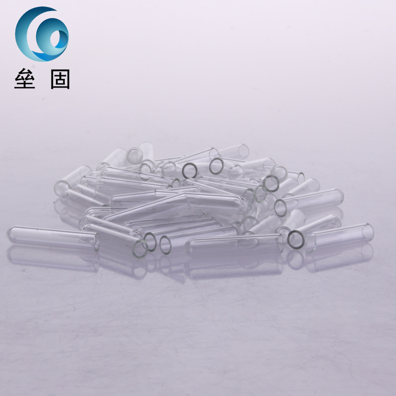 100 pcs 6 * 30mm fermentation Duchenne small glass catheter microbes tube 20ml fermentation tube with graduated on glass foot