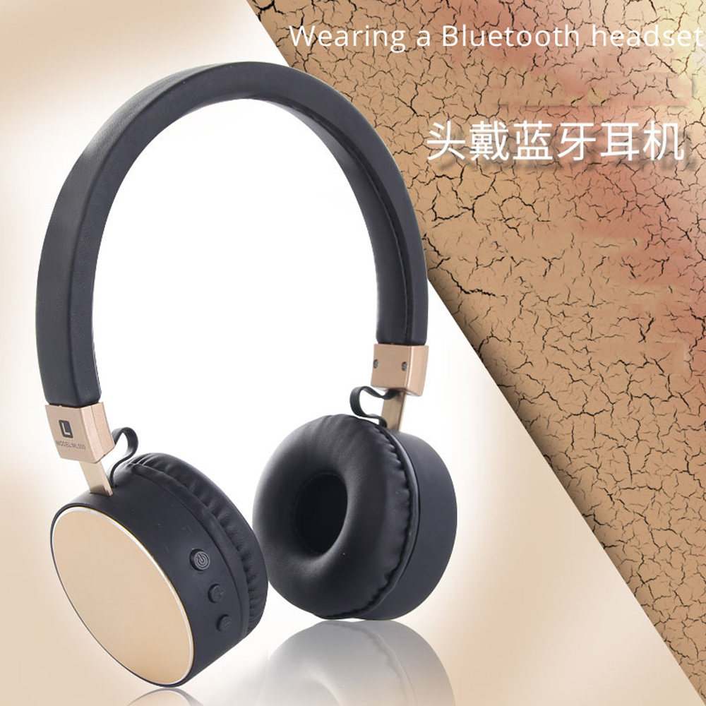 Bluetooth Casque Portable Bluetooth Casque Sans Fil Aux 3 5mm Stereo Hifi Music Earphone Outdoor Sport Headset With For All Smart Phone Headset