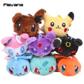 Monster Pikachu Squirtle Charmander Eevee Umbreon Sylveon Espeon Bulbasaur Plush Toys Soft Stuffed Dolls 10cm 10pcs/lot