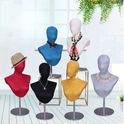 Meilleure offre spéciale Mannequin de tête de couturier masculin être Mannequin de tête d'aiguille de broche en Promotion