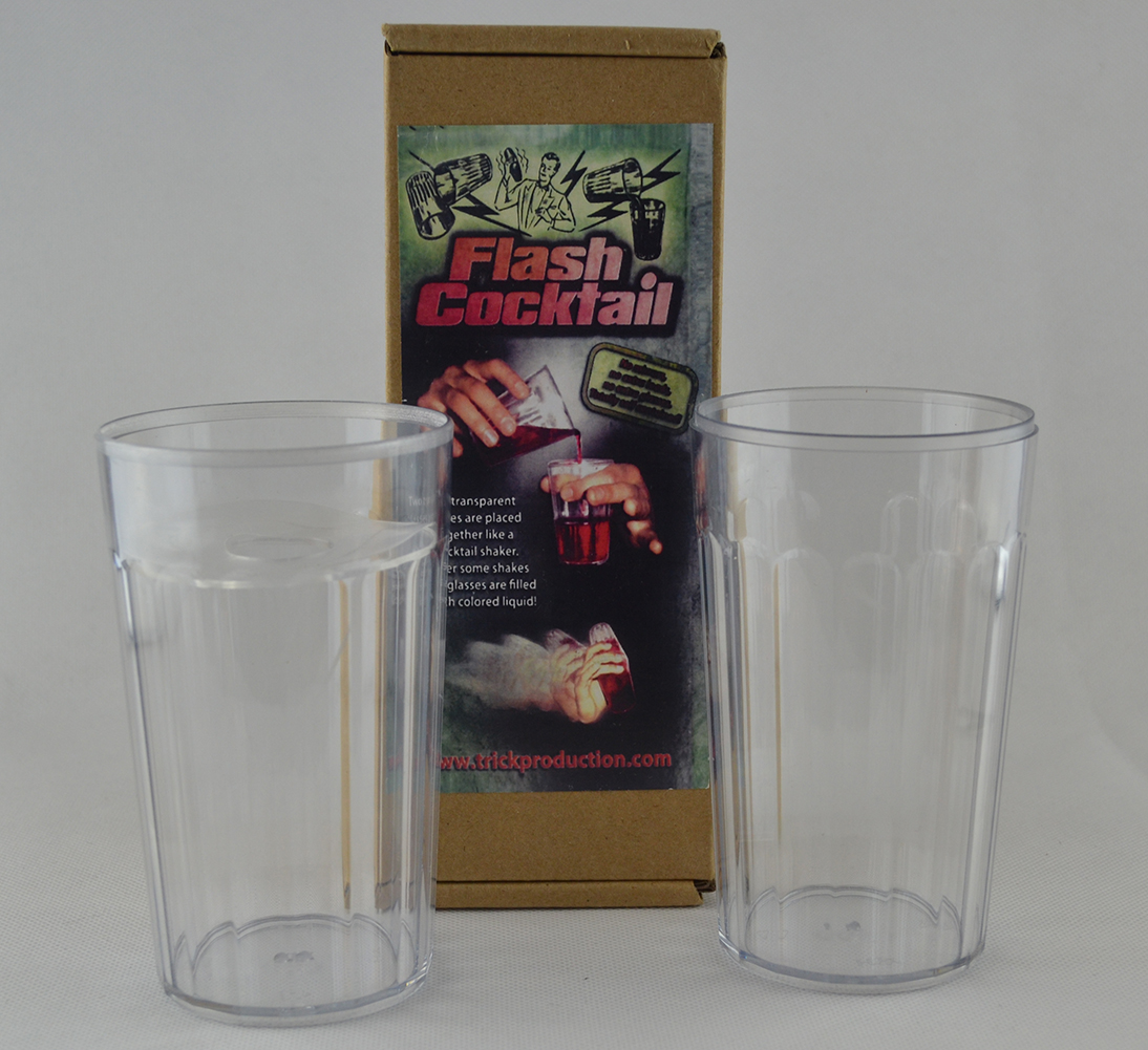Flash Cocktail Magic Tricks Magician Stage Close Up Illusions Gimmick Props Comedy Mentalism Empty Cup Appearing Liquid Magia