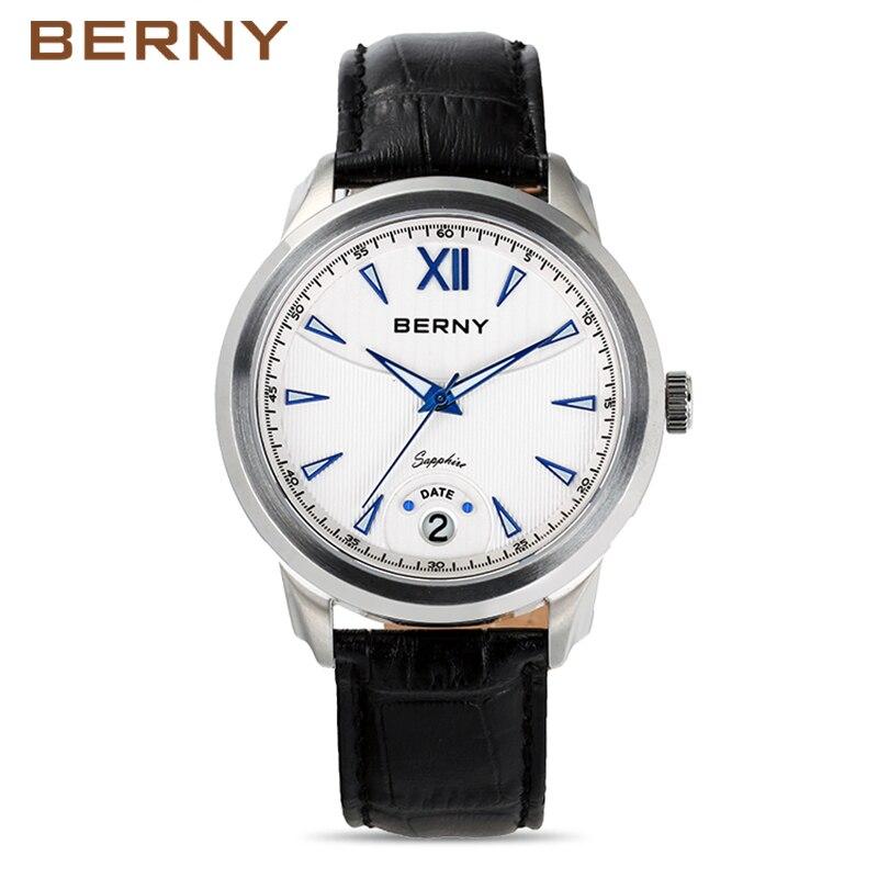 Berny Bărbați ceas Quartz Mens ceasuri de moda Top brand de lux - Ceasuri bărbați