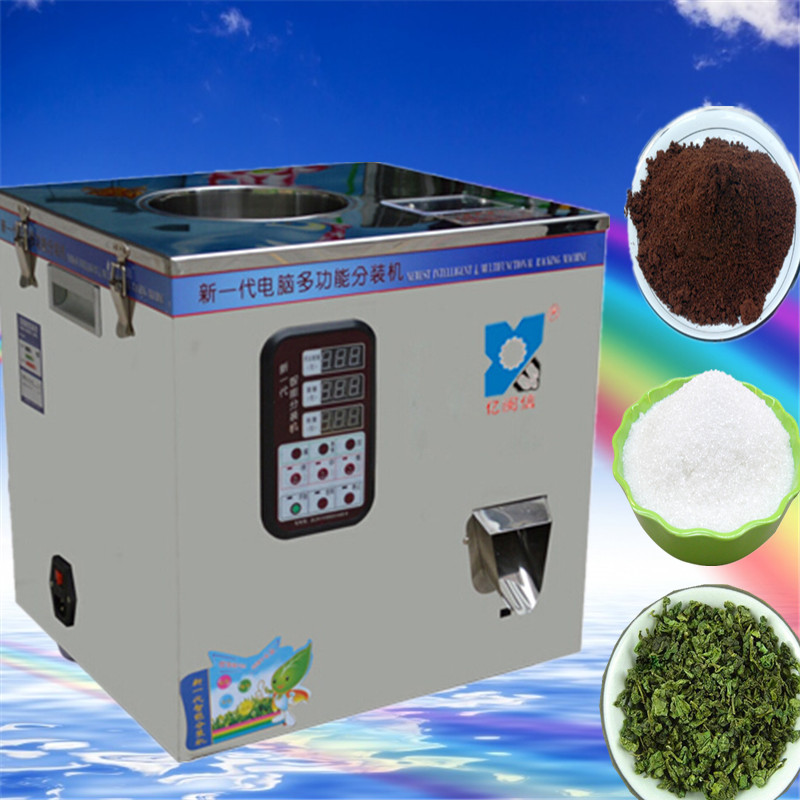 food filling machine oarse, granular sesame seeds, grains, beans,automatic powder filling machine, Medicine filling machine, 5 500g automatic powder tea food intelligent packaging filling machine weighing granular high quality packing machine