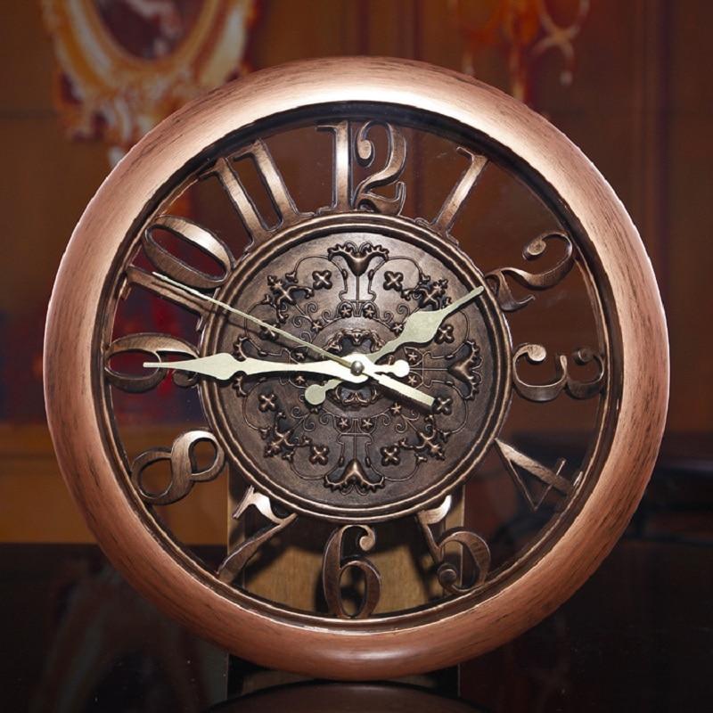 3D Wall <font><b>Clock</b></font> Saat <font><b>Clock</b></font> Reloj de Pared Duvar Saati Vintage Digital Wall <font><b>Clocks</b></font> Relogio de Parede Watch Horloge Murale Quartz