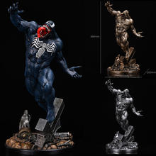 39 centímetros Avengers Superhero Veneno Estátua Resina Full-length Action Figure Collectible Modelo Toy Presente de Natal Aniversário(China)