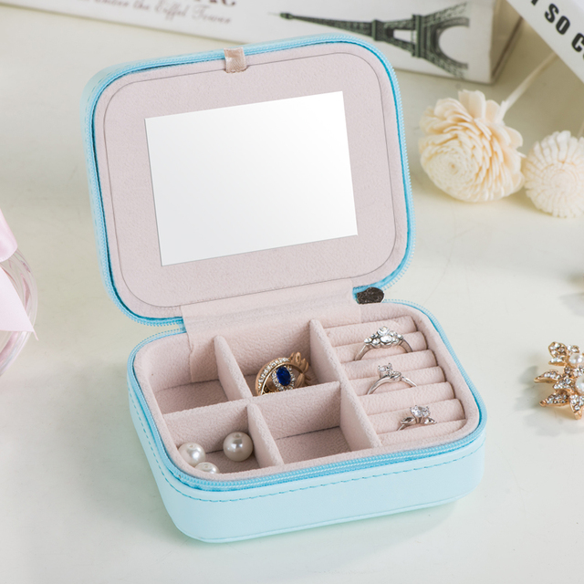 portable cute make up organizer,small lovely cosmetic makeup