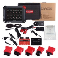 100% Original XTOOL X100 Pad2 Pro Auto Key Programmer With KC100 For VW 4th 5th Pro PAD 2 OBD2 Odometer