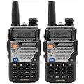 2 ШТ. walkie talkie baofeng УФ-5RE Dual Band двухстороннее радио УФ 5RE 5 Вт 128CH УВЧ УКВ ЧМ VOX Двойной Дисплей радио comunicador FM райдо