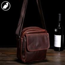 ETONWEAG New 2017 males manufacturers Italian leather-based crossbody organizer shoulder luggage brown zipper informal classic messenger luggage