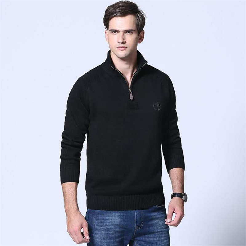 ROHOPO Militar Cotton Sweater Men,Cotton Safari Style Casual Pullover Sweater,Military Cotton Deportes Knitted Sweater Man Army