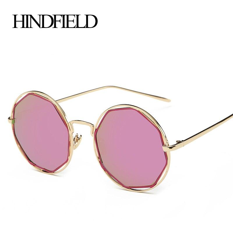 60c6178788 Xinfeite 5 unids/lote nueva Ronda Gafas de sol mujer marca diseñador  vintage Sol Gafas femal gafas UV400 gafas de sol Mujer