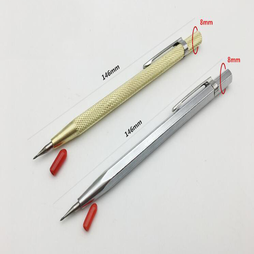 New style 1PC Tungsten Steel Tip Scriber Marking Etching Pen Marking Tools for Ceramics Glass Shell Metal Lettering tungsten carbide tip scriber etching pen carve jewelry engraver metal tool best quality