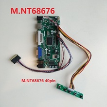 HDMI M.NT68676 DIY DVI VGA Controller board LCD Kit LED for 15.6″ LP156WH3(TL)(A1)/(TL)(A2) 1366X768 Screen 40pin Panel