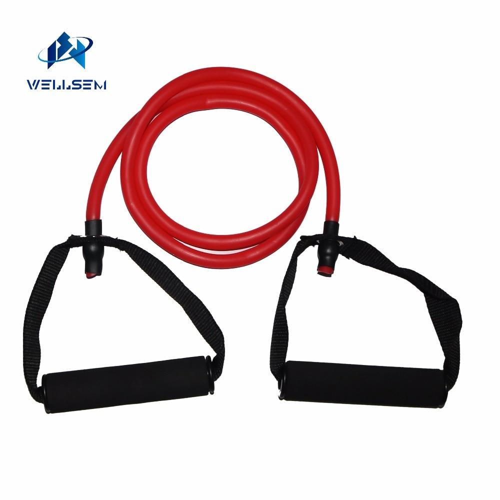 Yoga Pull İp Fitness Müqavimət Qrupları Məşq Boruları - Fitness və bodibildinq - Fotoqrafiya 5