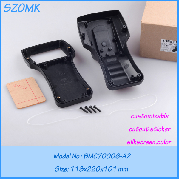 10 pcs lot plastic industrial control enclosure electronics plastic box plastic box for electronic project 118X220X101MM