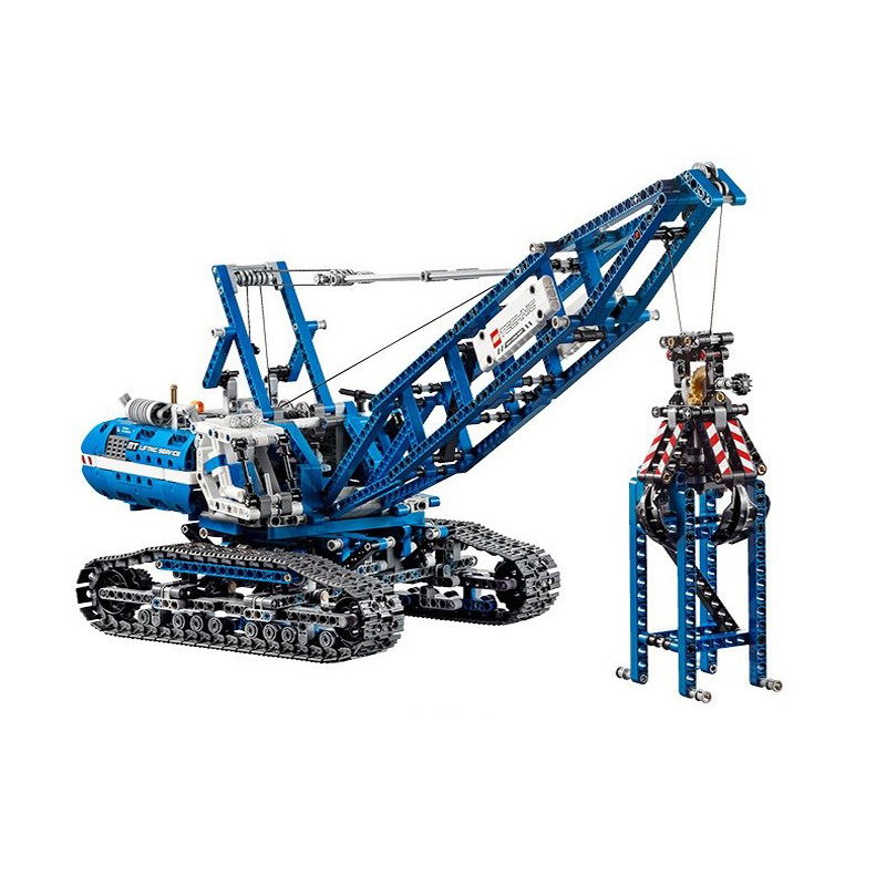 Compatible Legoe Genuine Technic 42042 model 20010 1401pcs Crawler Crane building blocks Figure bricks toys for children decool 3117 city creator 3 in 1 vacation getaways model building blocks enlighten diy figure toys for children compatible legoe