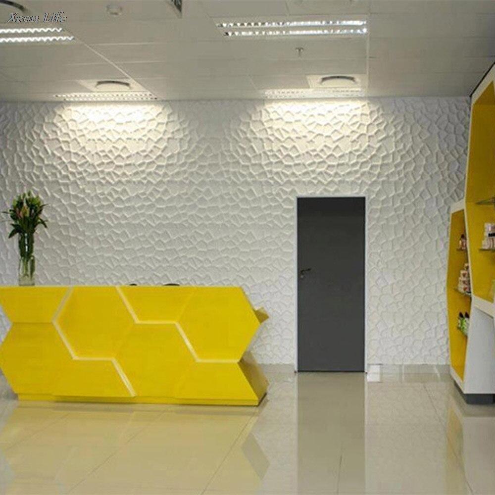 ISHOWTIENDA 60*30 *0.8cm New PE Foam 3D Wallpaper DIY Wall Stickers ...