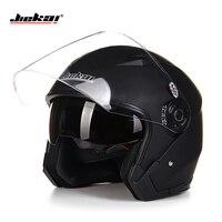 Helmet Motorcycle Open Face Capacete Para Motocicleta Cascos Para Moto Racing Jiekai Motorcycle Vintage Helmets With