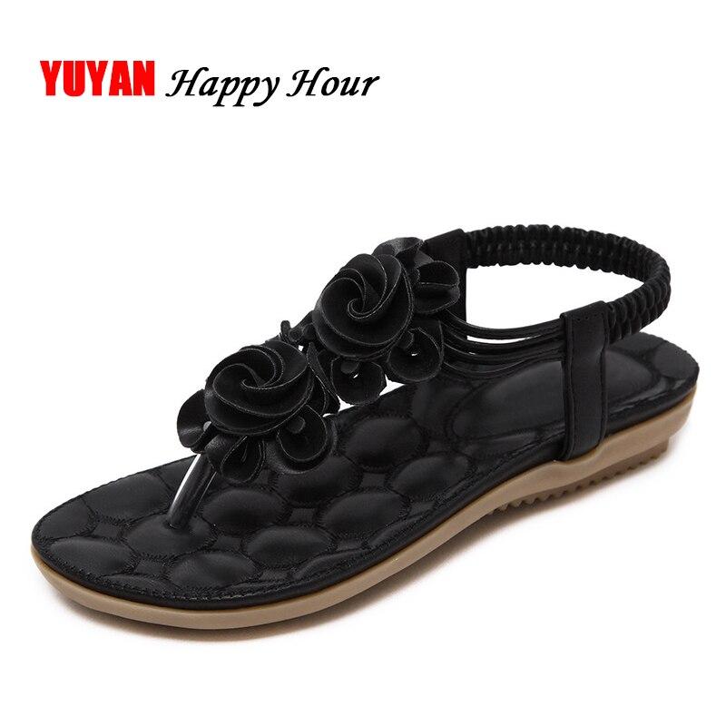 e579f6381fa1c New 2019 Summer Shoes Women Sandals Flat Heel Non-slip Beach Flip Flops  Women s Sandals