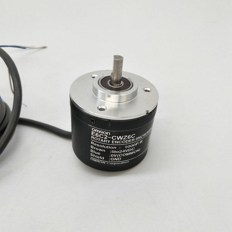 E6C2 CWZ6C OMRON поворотный фотоэлектрический датчик 5 24V 2500 2000 1800 1024 1000 600 500 400 360 200 100 60 40 30 20PPR