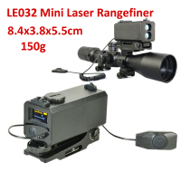 700M Range Riflescope Mate Mini Laser Rangefinder Laser Speed Velometer Mini Laser Ranger Rilfe Gear Scope