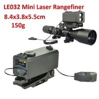 700M Range Riflescope Mate Mini Laser Rangefinder Laser Speed Velometer Mini Laser Ranger Rilfe Gear Scope