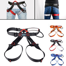 Outdoor camping climbing Safety Harness Seat Belts Sitting Rock Climbing Rappelling Tool With Bag
