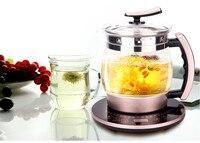 Aushärtung topf Voll automatische verdickt glas multi-funktion große kapazität herstellung tee kochendem blume teekanne Überhitzung Schutz