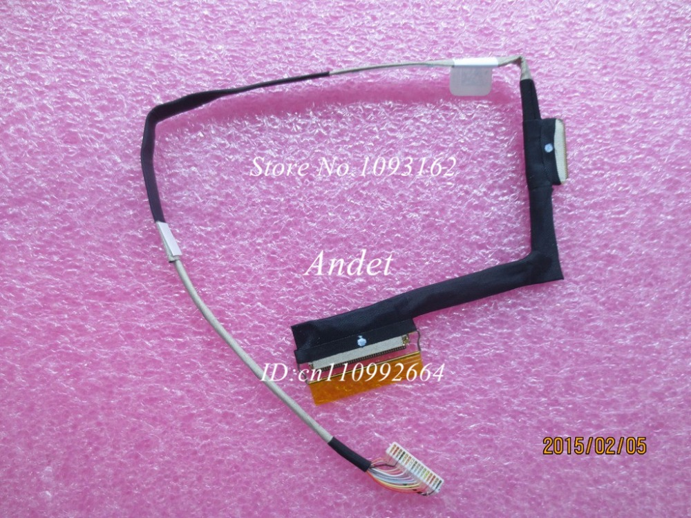 New Original For Lenovo ThinkPad Tablet 10 ThinkPad10 LCD Screen LVDS Cable VGA eDP Flex 00HW983 for thinkpad x1 carbon led lcd laptop screen b140xtn02 5 1366x768 lvds 40pin original new