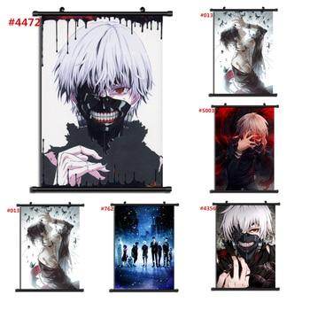 Tokyo Ghoul Kaneki Ken Anime Manga Wall Poster Scroll Home Decoration Wall Art недорого