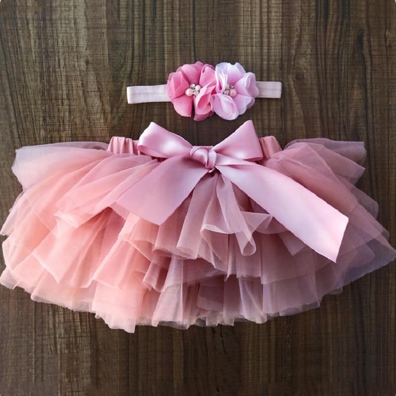 WO/_ Toddler Newborn Baby Girl Tutu Skirt /& Headband Photo Prop Costume Outfit Fi