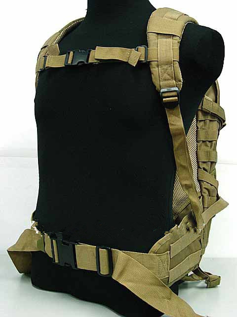 Tactical sports backpack Molle Patrol Rifle Gear Coyote Brown sports Backpack bag hiking