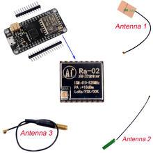 433MHz LoRa32u4 Ra-02 1KM LoRa Wifi Transceiver Module Atmega328 SX1278 LiPo JST Connector  Antenna for Arduino недорого