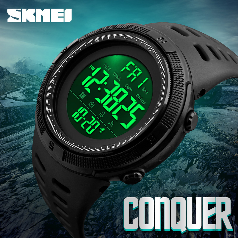 SKMEI 1251 Waterproof LED Digital Watch Military Clock Sports Men's Watches Relogio Masculino For Man Relojes Para Hombre