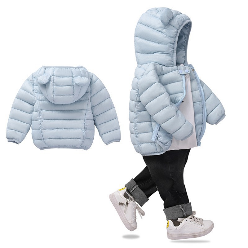 COOTELILI Cute Bear Children's Parkas Winter Jacket For Girls Boys Infant Overcoat Winter Children Coats Warm Kids Jacket Baby  (8)