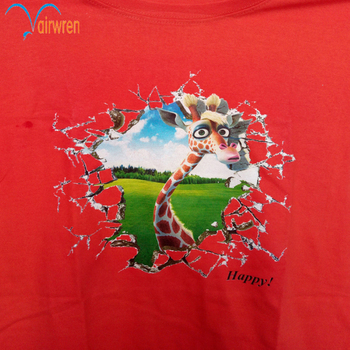 Good Quality Dtg Printer For T-shirt  cotton textile print equipment with high resolution