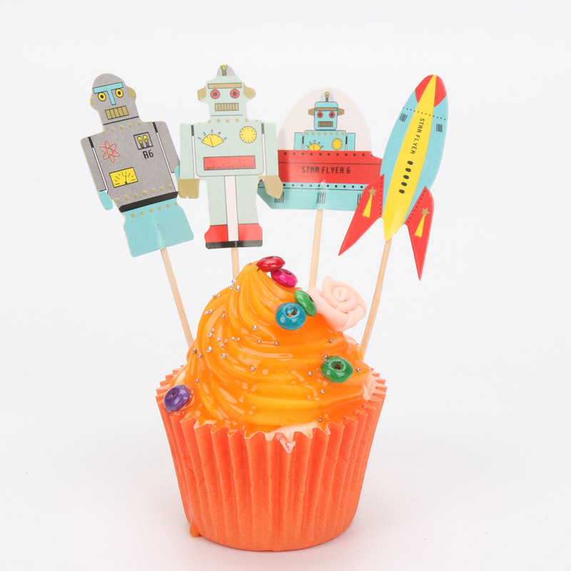 online get cheap robot party favors aliexpress  alibaba group, Baby shower invitation