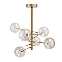 Nordic Light modern personality originality loft ins chandelier bedroom light luxury chandelier magic bean golden Chandelier