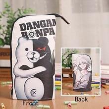 Anime Danganronpa Monokuma Étanche PU En Cuir Papeterie Poche/Brosse Pot/Porte-Stylo/Crayon Cas Sac/Bureau Fournitures scolaires