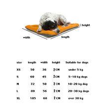Ganyue Size Large Dog Bed Multi-Color Pet Dog Bed Padded Puppy Cat Mat Warm Pet Cushion Rectangle Cat Dog Mat Kitten Kennel Soft