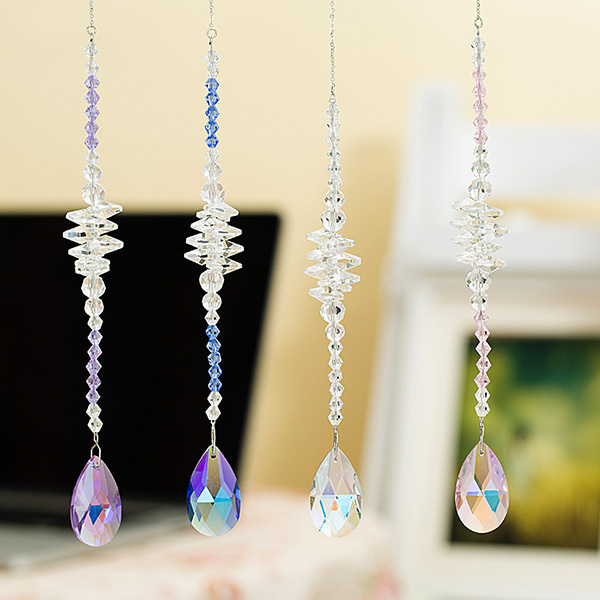 Buy wholesale luxury crystals suncatcher for Crystal home decorations