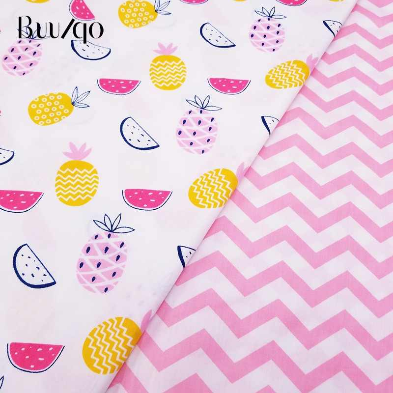 50*40cm Cotton Fabric Kids Twill Cotton Fabric Patchwork Cloth DIY Sewing Quilting Fat Quarters Material For BabyΧld