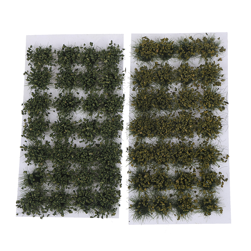 Simulation Model Scene Simulated Bush Scale Model Grass Tuft Grass Needle Grass Model DIY Handmade Building Materials