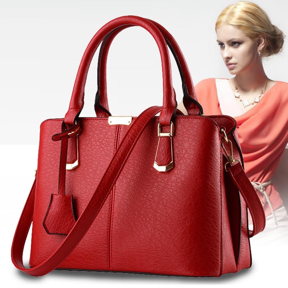 Famous Designer Brand Bag Women Leather Handbags 2018 Fashion Luxury