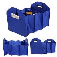 Car Storage Box Car Trunk Storage Bag Folding Cartons Car Boot Foldable Toolbox Multi Use Toys
