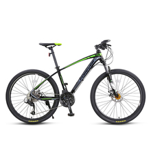 Mountain bike 27 variable speed 26 inch aluminum alloy frame male and female students adult bicycle Double-disc Double-disc Fron