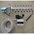 GSM 900 мГц Сотовый телефон усилитель сигнала GSM сигнал повторителя усилитель с ЖК-дисплеем 13dbi яги полным набором