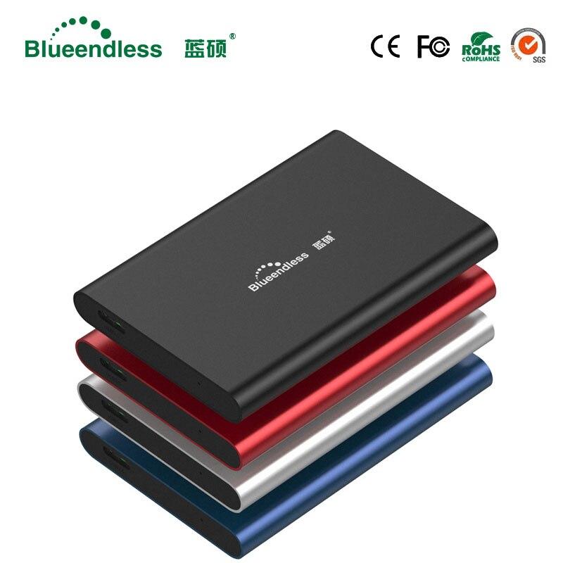 Blueendless Externe Portable Disque Dur 1 tb Haute Vitesse 2.5 HDD USB 3.0 Externe Périphériques De Stockage De Bureau Ordinateur Portable 1 tb Disque Dur