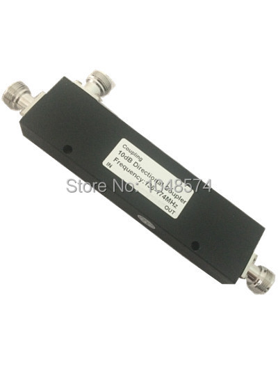 10dB VHF Directional Coupler 136-174MHz RF Coupler 200W N female connector indoor
